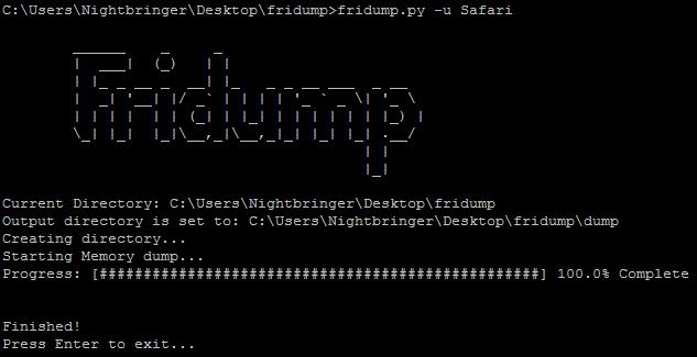 Fridump – iOS Examples – PenTest Corner